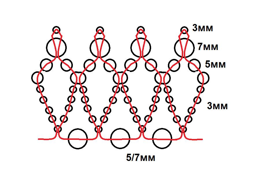 Корона схема своими руками
