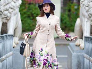 Пальто для девочек любого возраста. Ярмарка Мастеров - ручная работа, handmade.