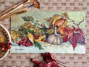 Осень — лучший художник!. Ярмарка Мастеров - ручная работа, handmade.