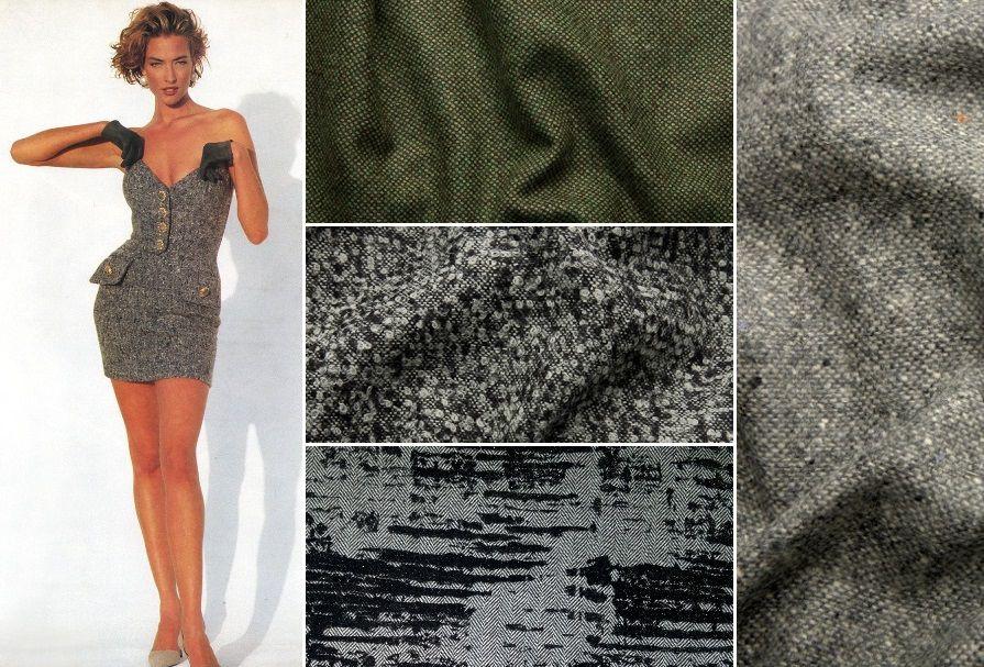 твид, костюмные ткани, шерсть, шерстяные ткани, ткани для одежды, ткани из италии, шьем платья, теплые платья, букле