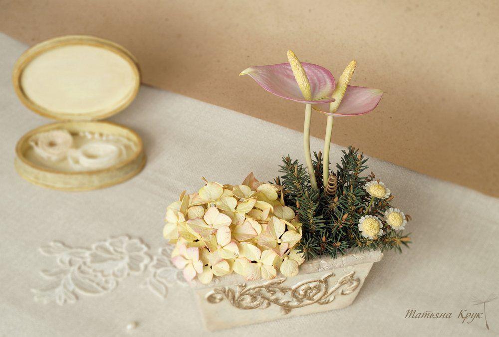 фом фоамиран цветы, композиция из цветов