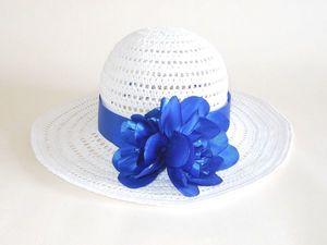 Её Величество летняя женская шляпа | Ярмарка Мастеров - ручная работа, handmade