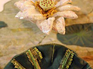 Объемные цветы в различных техниках вышивки от Caroline Gamb. Ярмарка Мастеров - ручная работа, handmade.