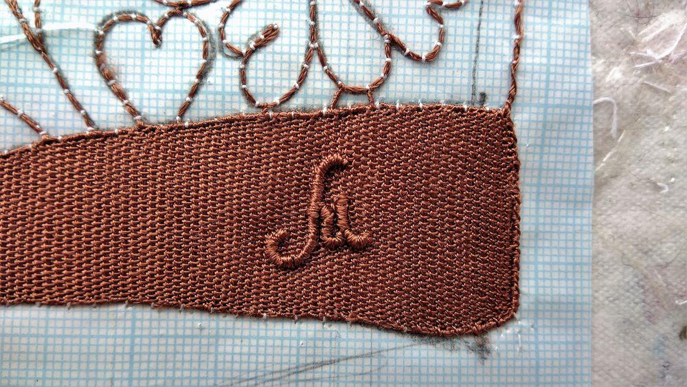 логотип, метка, авторство, кружево, буква м, м, кружево иглой, машевские кружева