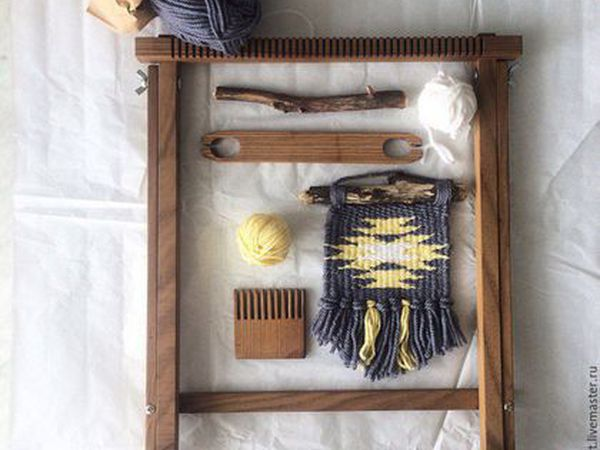 Вся правда о моих ткацких рамах   Ярмарка Мастеров - ручная работа, handmade