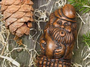 Старичок Вздоховичок от Уныния. Ярмарка Мастеров - ручная работа, handmade.