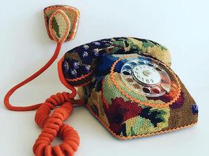 Ulla Stina Wikander и ее необычная коллекция «вышитых» бытовых предметов. Ярмарка Мастеров - ручная работа, handmade.