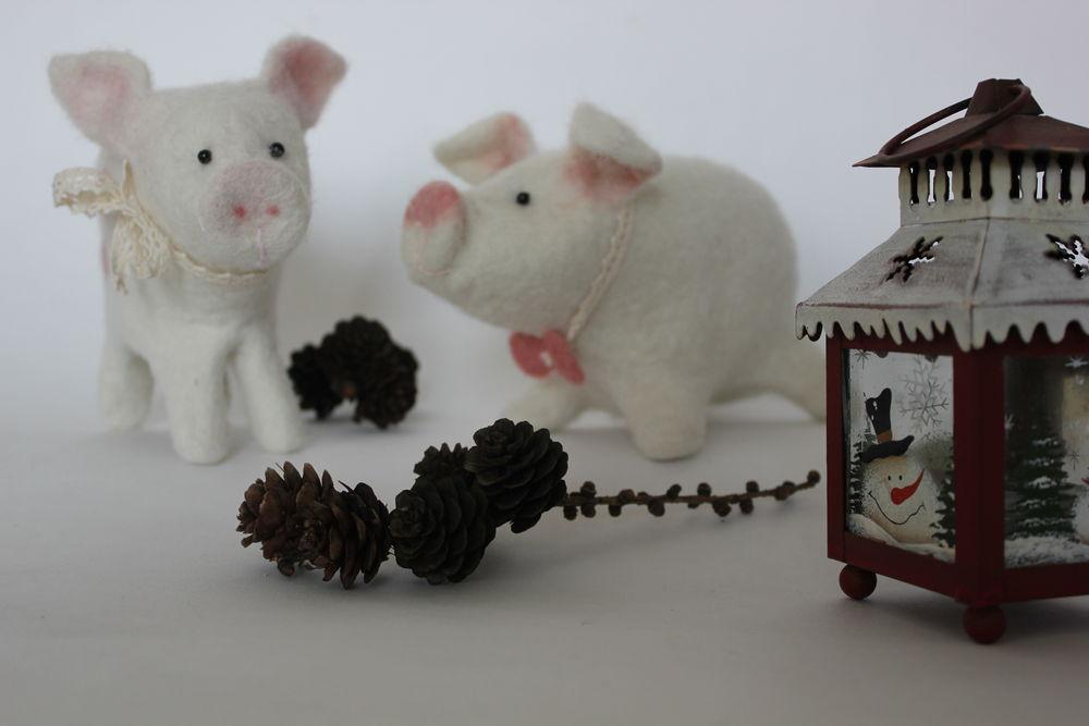 подготовка к новому году, год свиньи
