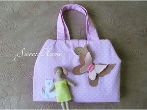 Шьем сумочку-домик для девочки. Ярмарка Мастеров - ручная работа, handmade.
