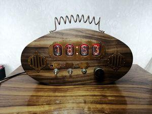 Видео работы часов с радио. Ярмарка Мастеров - ручная работа, handmade.