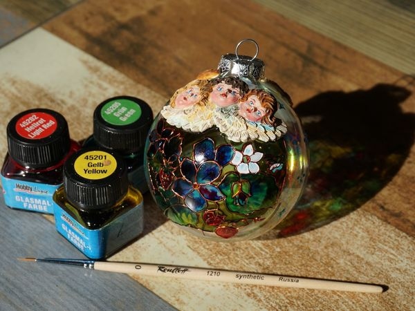 Обзор витражных красок Glasmal-Farbe C.Kreul