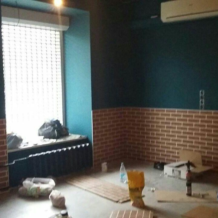 ремонт барбершопа, барбершоп под ключ, the loft
