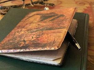 Подарок любимым. Обложка для паспорта в технике декупаж. | Ярмарка Мастеров - ручная работа, handmade