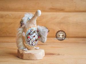 Ежиха Снежа. Ярмарка Мастеров - ручная работа, handmade.