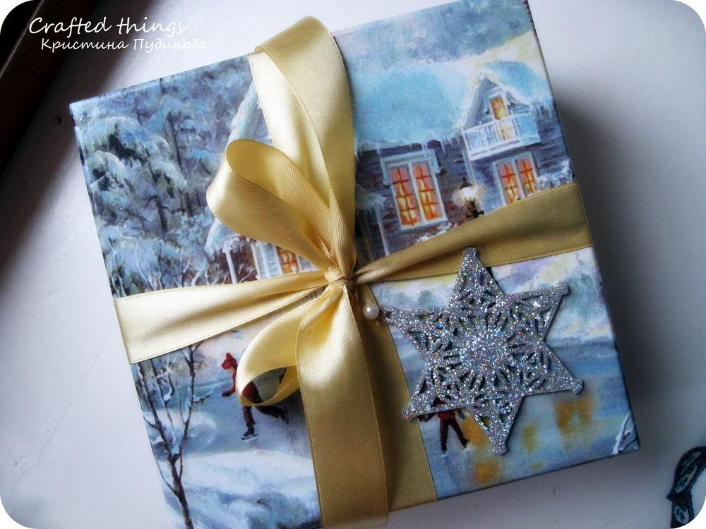 елочные игрушки, новогодний подарок, из ткани