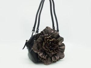 Новинка + 1. Обзор кожаной сумочки.. Ярмарка Мастеров - ручная работа, handmade.