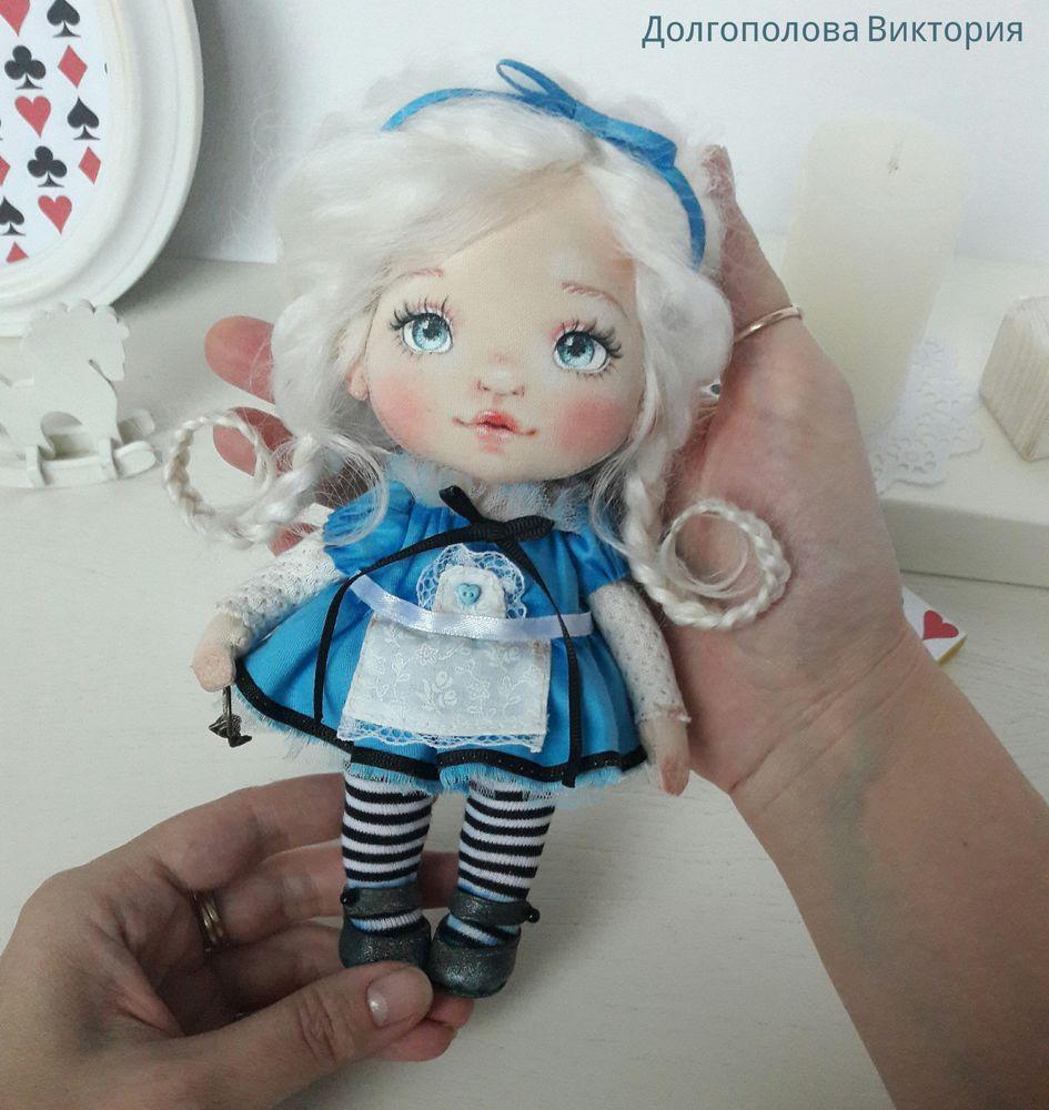 текстильная кукла, подарок девочке, кукла алиса