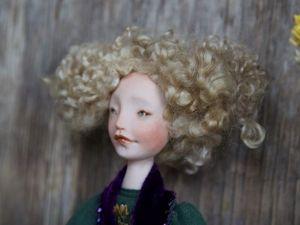 Дополнительные фотографии авторской куклы Эмеральд. Ярмарка Мастеров - ручная работа, handmade.