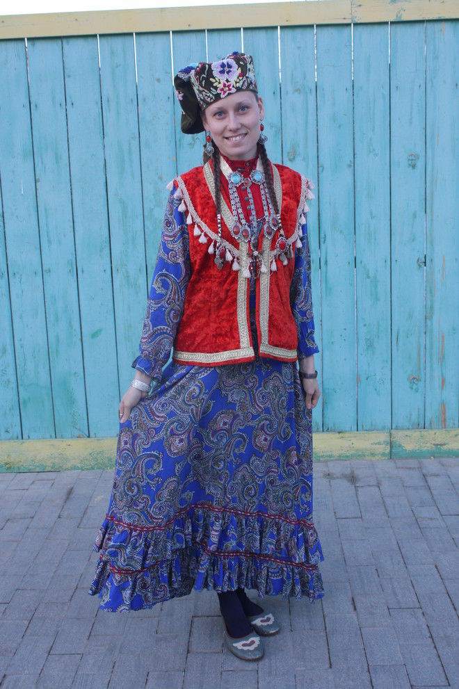 Татарский наряд фото