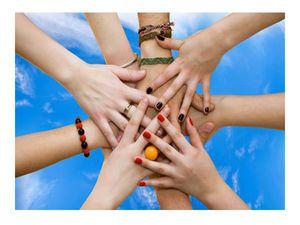 шире круг, друзья, игра, эстафета дружбы, давайте дружить
