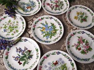 В Петербург пришло лето! Коллекция декоративных тарелок от Royal Worcester в продаже! | Ярмарка Мастеров - ручная работа, handmade