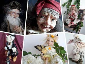 Скидки 20% на все готовые куклы. Ярмарка Мастеров - ручная работа, handmade.