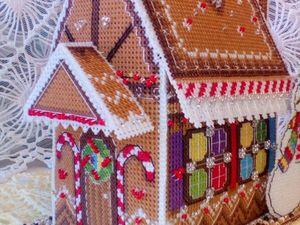 Скидка 40 % на чудесный Новогодний домик .. Ярмарка Мастеров - ручная работа, handmade.