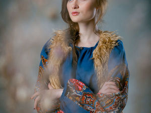 Рубахи в русском колорите для нашей зимы. Ярмарка Мастеров - ручная работа, handmade.