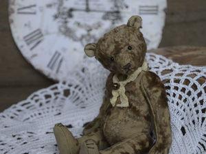 Плюшевый винтажный мишка.. Ярмарка Мастеров - ручная работа, handmade.