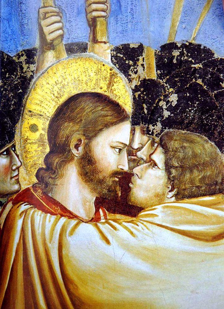 несение креста в картинах
