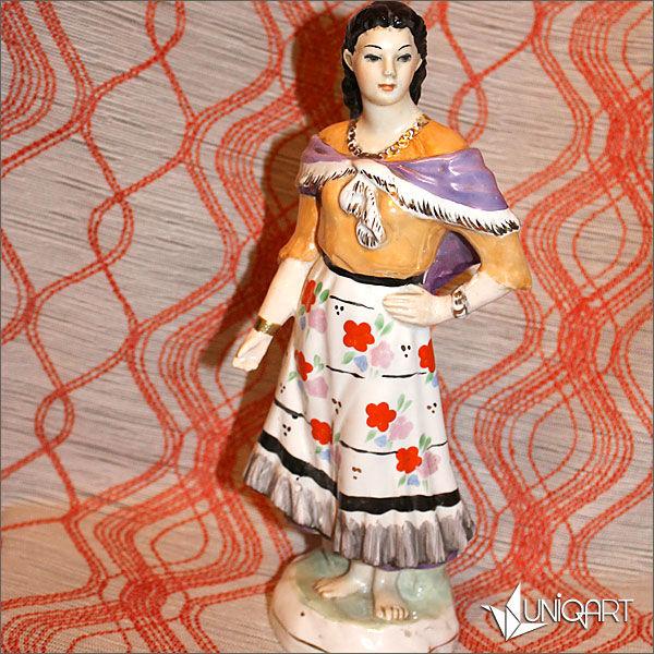 фарфор, антиквариат, купить винтаж, советский фарфор, советский союз, скульптурная миниатюра, статуэтка, ретро, коллекционирование, винтажный стиль