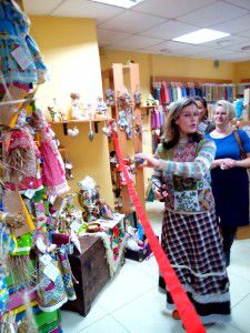 выставка кукол, масленица, 8 марта