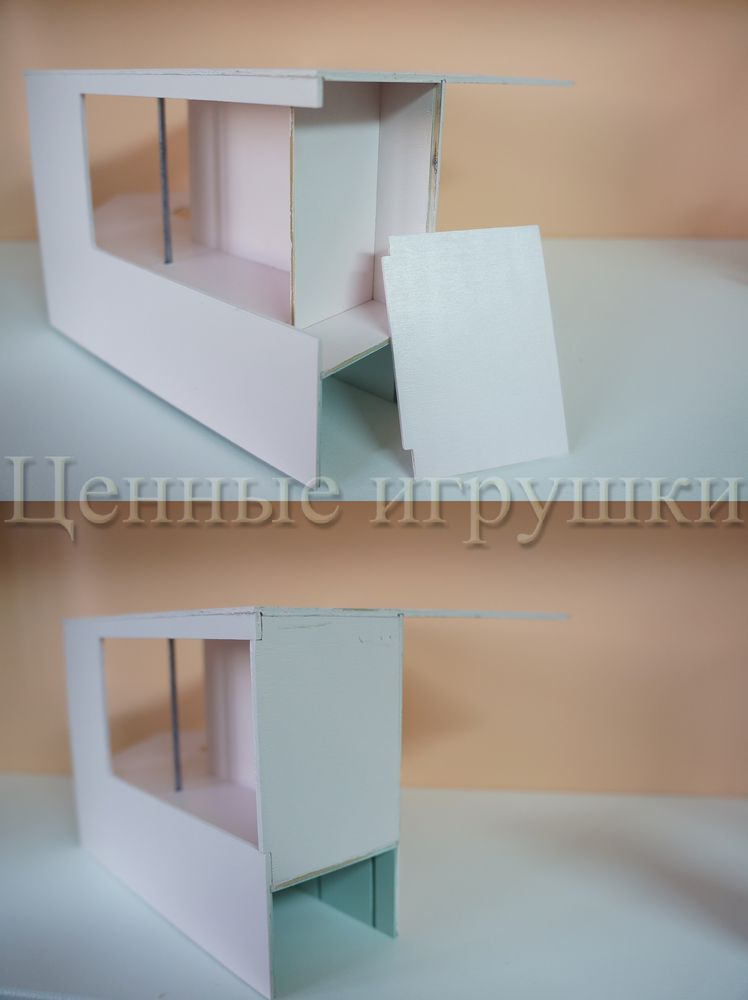 Мастер класс по сборке и оформлению кроватки домика., фото № 13