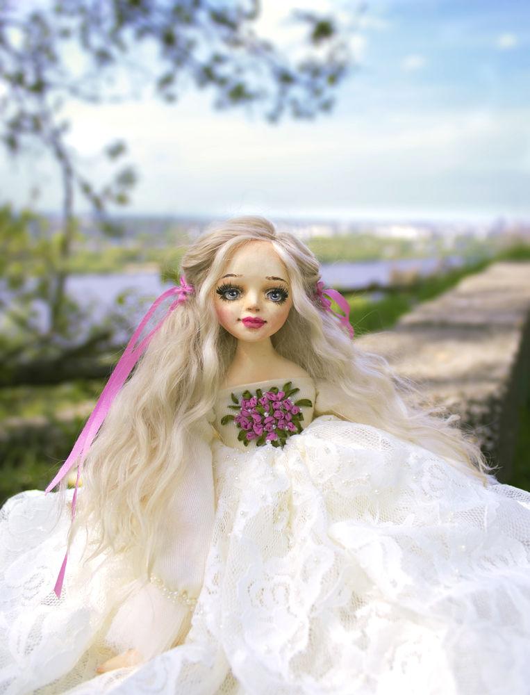 купить интерьерная кукла, подарок на день рождения