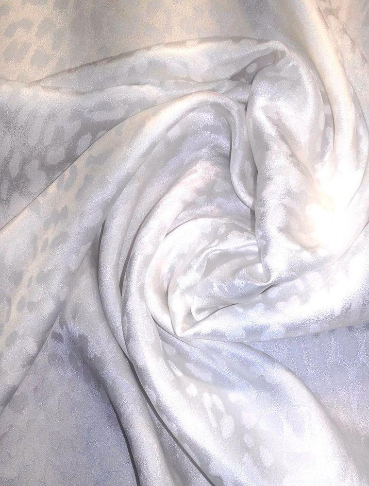 жаккард, шелк, белый шёлк, шёлк для батика, шелк для подклада
