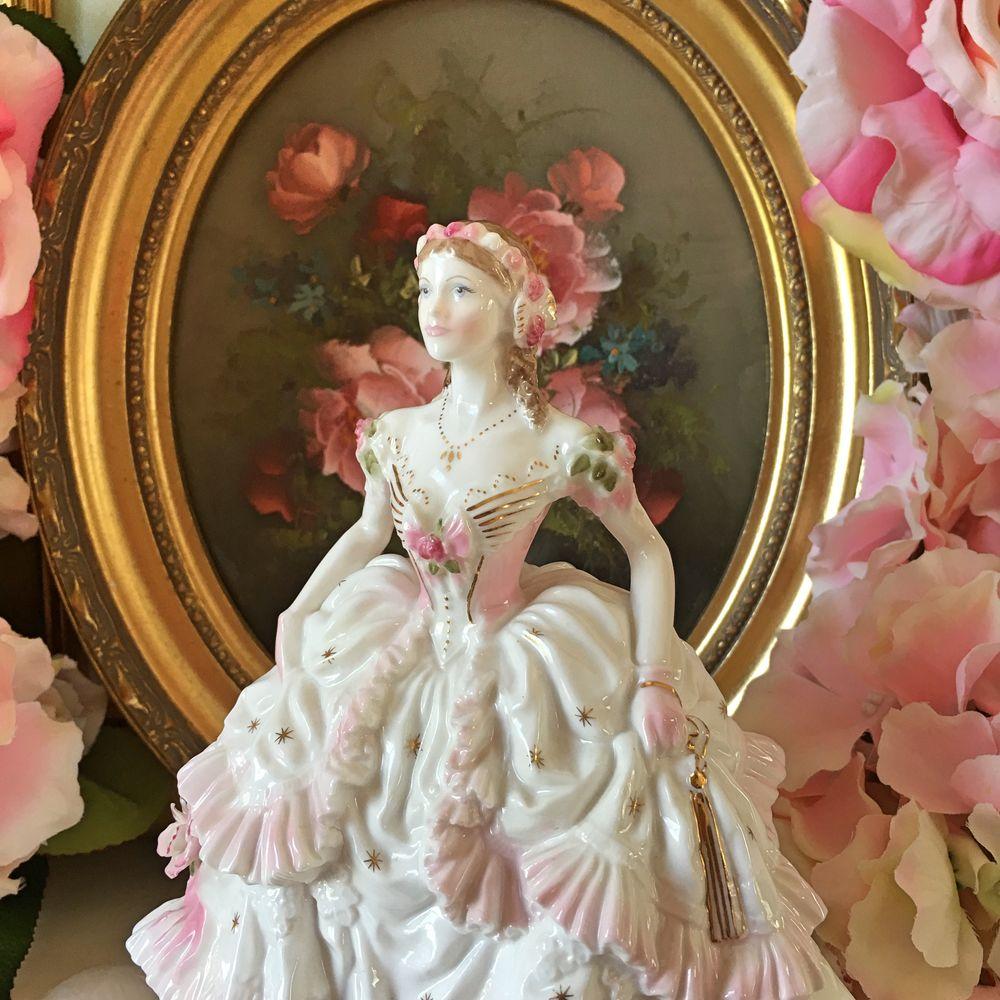 royal worcester фарфор, викторианская роза