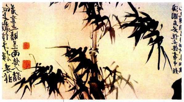 новая работа, вышитые репродукции, китайская живопись