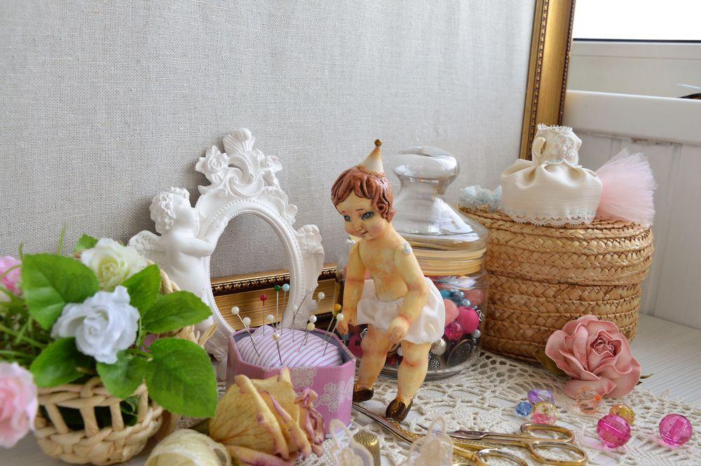 кукольный домик, кукла ручной работы