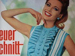 Neuer Schnitt — старый немецкий журнал мод 5/1963. Ярмарка Мастеров - ручная работа, handmade.