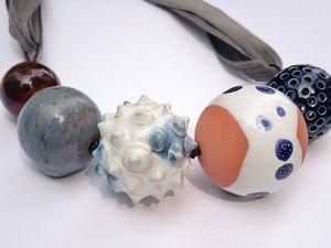 Новые керамические бусы из разных серий!. Ярмарка Мастеров - ручная работа, handmade.