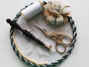 Палетка как удобный инструмент для вышивания. Ярмарка Мастеров - ручная работа, handmade.
