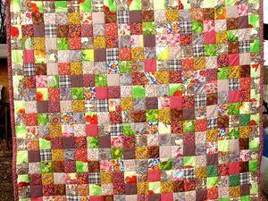 Лоскутная техника пэчворк квилт лоскутное одеяло quilt patchwork   Ярмарка Мастеров - ручная работа, handmade