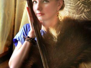 Прекрасная амазонка Шелковое платье. Ярмарка Мастеров - ручная работа, handmade.