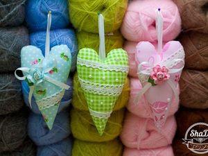 Шьем текстильное сердечко-подвеску в стиле тильда. Ярмарка Мастеров - ручная работа, handmade.