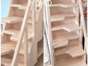 """Лестница """"Утиный шаг"""". Ярмарка Мастеров - ручная работа, handmade."""