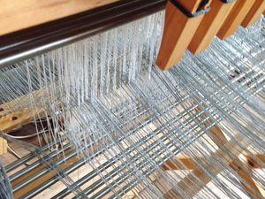 Этап создания изделия_4 ( проборка нитей). Ярмарка Мастеров - ручная работа, handmade.