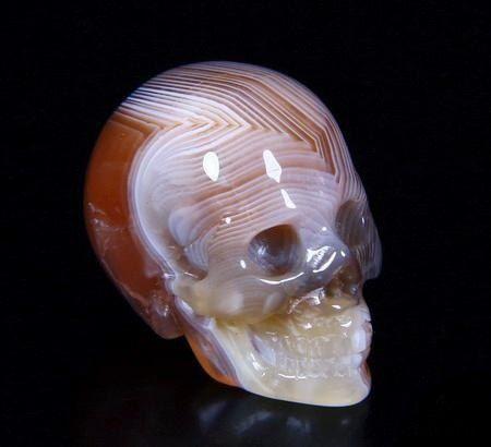 резные черепа