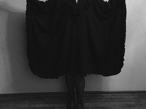 Волшебное платье из шерсти- история создания. Ярмарка Мастеров - ручная работа, handmade.