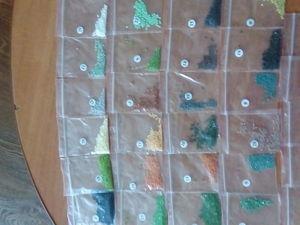 Остатки от алмазной мозаики. Ярмарка Мастеров - ручная работа, handmade.