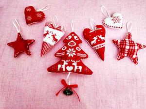 Как сшить игрушку на ёлку/валентинку? Подарок своими руками.. Ярмарка Мастеров - ручная работа, handmade.